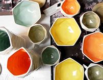 Cerámica facetada / Faceted pottery 2012