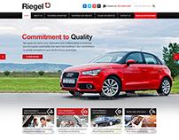 Car Maintenance Website Design Project