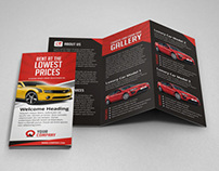 Creative Car Rental Trifold Brochure Template
