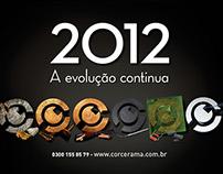 Calendário Corcerama 2012