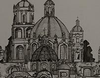TEMPLO DE SAN FRANCISCO, S.L.P, MEXICO
