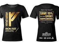 Iron Fist T-Shirt Concept