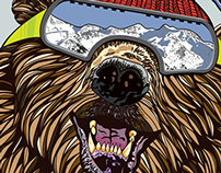 'Rehab' Snowboard Design for Snowboard Addiction