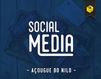 Social Media - Açougue do Nilo