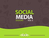 Social Media Designs - Vol-1