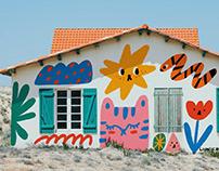 Quarantine art project- Digital mural