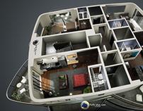 Neorama Flats - Interior