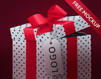 Gift box mockup: fully customizable