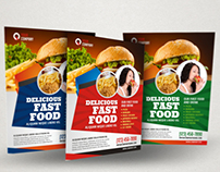 Fast Food / Restaurant Flyer Ad Template Vol.2