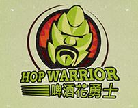 Hop Warrior branding
