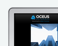 Oceus Networks  Web Site