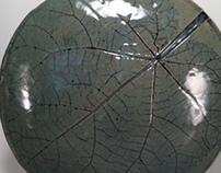 Circular Leaf Vase