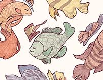 A Fishy Dance