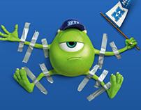 Disney Print Ad - 2013 MLB World Series