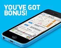 Bonus Mobile App - Case Study Page Design