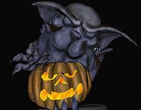 Hallowe'en Gargoyle