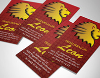 Leon business card