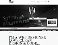 (Download) Milan - Minimalistic Onepage Portfolio Theme