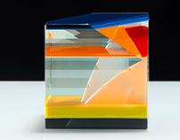 cube series / Sun Goes Down