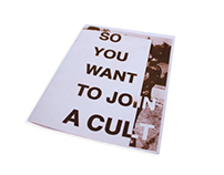 So You Want to Join a Cult