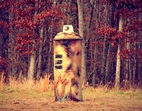 """""""IN THE WOODS: From the Giant Spray Can Series"""
