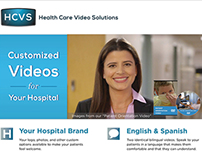 Health Care Video Solutions One-Page Design