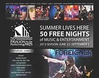 Levitt Pavilion Summer Season Promotion