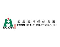ECON HEALTHCARE Corporate Website Interface