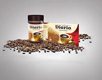 Cafe Diario Label Design