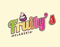 Propuestas de logo para la heladería Fruit Mix
