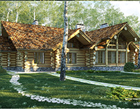 Exterior - wooden house
