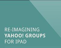 Yahoo! Groups - iPad App