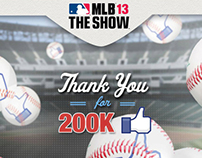 MLB The Show 2013 - Facebook Content