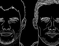 Canucks Portraits - The Defencemen
