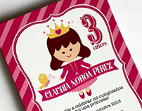 It's good to be a princess! invite