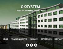 OKsystem - webdesign mockup