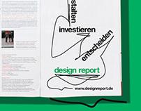 gestalten, investieren, entscheiden —design report