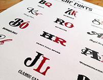 LHF Fonts...