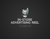 In-store Advertising Reel