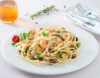 Italian menu for Veranda