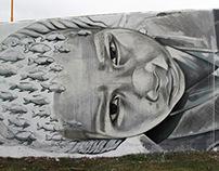 graffiti / mural / horizontal