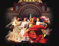 Ballet Folklorico de Mexico, graphic concept