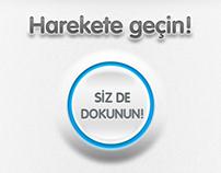 TOÇEV | Campaign App UI/Web App UI