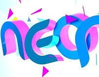Neon Rain -Band Logo