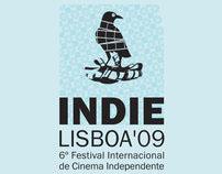 Cartazes para o Festival Indie Lisboa'09