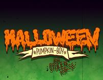 Halloween : Pumpkin Boy And Stolen Horse