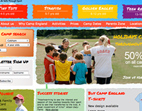 Camp England Website