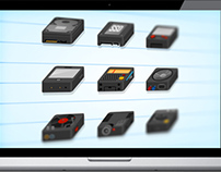 Technology gadgets small iconset