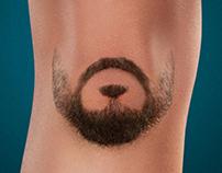 """""""Shaving is for men.""""  Veet"""