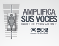 Amplifica sus voces - ONU ACNUR
